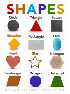 Shapes - Teacher Created Poster