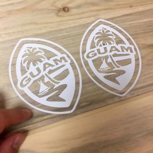 Small Modern Guam Seal Sticker Decal