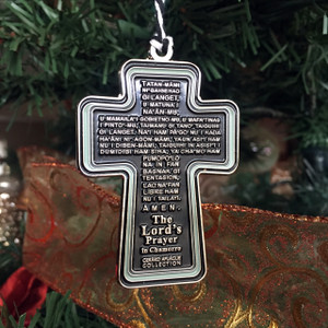 Chamorro Guam/CNMI Lord's Prayer Ornament