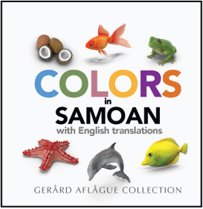 New! Samoan Colors Book with English Translations
