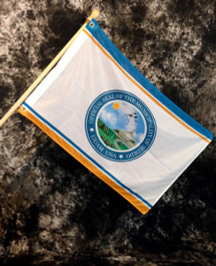 Dededo Village Flag, Guam - 2x3 Foot (Flagpole not included)