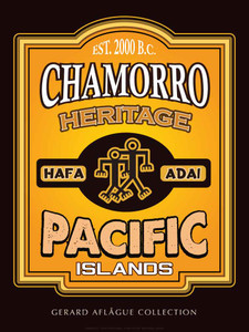 Fine-Art Giclee Poster Illustration - Chamorro Heritage - Hafa Adai - Pacific Islands