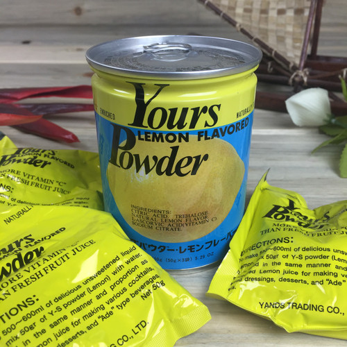 Yours Lemon Flavored Powder