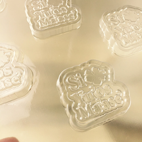 Si Yu'os Ma'ase (Thank You) Chocolate, Butter, & Gelatin Plastic Mold