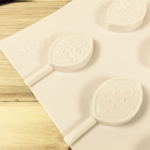 Guam Seal Chocolate and Hard Candy Lollipop Mold