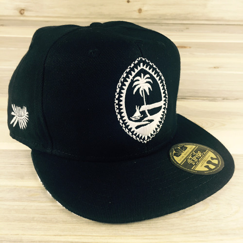 Youth Size Tribe Brand Tribal Guam Seal Snapback Hat