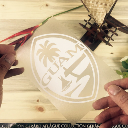 Simple Guam Seal Sticker Decal