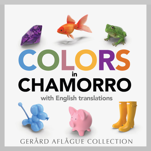 Colors in Chamorro Soft-Cover Book