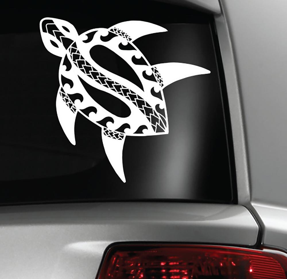 Car stickers design philippines - Tribal Turtle Sticker Decal Guam Hawaii Tonga Samoa Philippines
