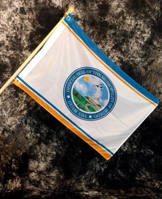 Dededo Village Flag, Guam - 2x3 Foot (Flagpole not included)