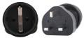 Schuko to UK 3 Pin Plug Adapter
