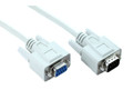 15M DB9M-DB9F Serial Extension Cable