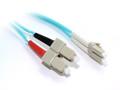 0.5M LC-SC OM3 10Gb Multimode Duplex Fibre Optic Cable