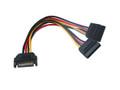 20CM SATA Power Splitter Cable