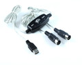 2M USB TO MIDI Cable