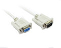 0.5M DB9M-DB9F Serial Extension Cable