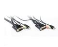 1.8M DVI USB Audio KVM Cable Set