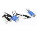 1.8M USB VGA KVM Cable Set with Audio