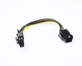20CM PCIe 6Pin F to 8Pin M Cable