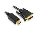10M Displayport To DVI-D Cable