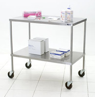 Instrument table with Undershelf