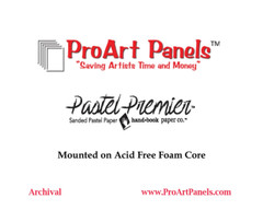 Panels made with Pastel Premier- 16x16