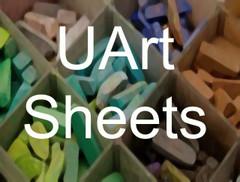 UArt Pastel Paper 9x12