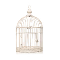 Hanging Birdcage in Cream