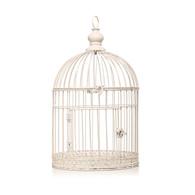 Hanging Birdcage in Cream