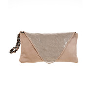 Mink Envelope Bridal Clutch