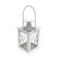 White Beach House Lantern