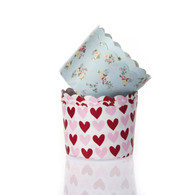 Love Heart or Gardenia Cupcake Holders
