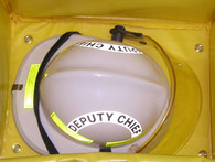 Fire Helmet Bag inside