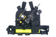 Dual Hand Held Radio Chest Harness