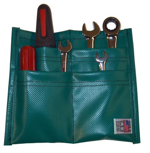 Green Foldable Tool Pouch