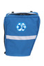 Blue Bike Pannier with Star of Life