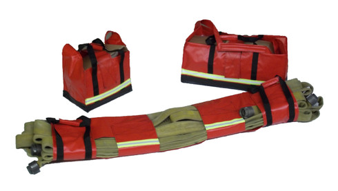 Big City High Rise Hose Bag Kit in Red