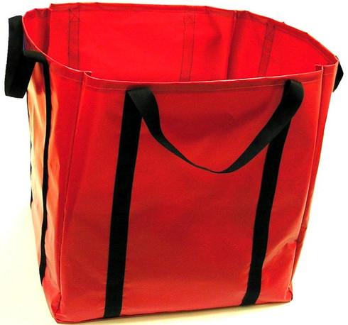 Cribbing bag can be custom labeled.
