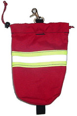 Rope Bag with reflective striping and scissor hook
