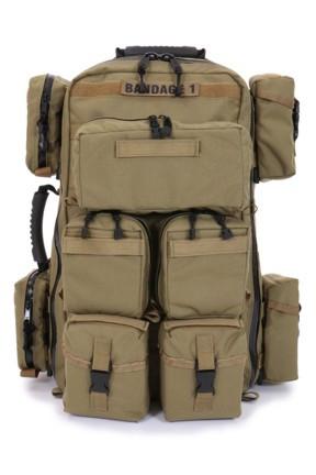 371BK-A Tactical Medical Back Pack 1