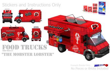 lego food truck instructions