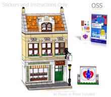 OSS Doctor's Clinic PDF Lego Instructions and Sticker Pack