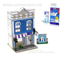 OSS Dentist's Office PDF Lego Instructions and Sticker Pack