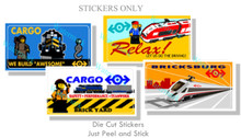 Train 4 Pack Billboard Stickers Collection 2