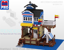 Fishing Dock PDF Lego Instructions
