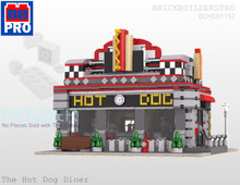 Hot Dog Diner PDF Lego Instructions
