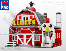 The Great Barn PDF Lego Instructions