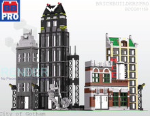 City of Gotham PDF Lego Instructions