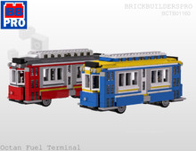 Trolley Bus PDF Lego Instructions