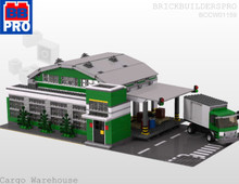 Cityline Warehouse Layout PDF Lego Instructions